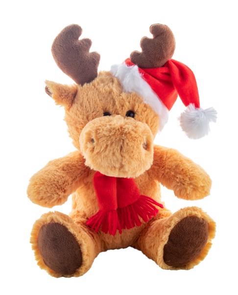 Plush Reindeer Svalbard - Brown / Red