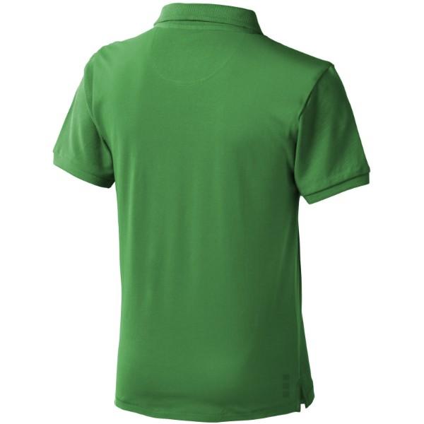 Calgary short sleeve kids polo - Fern green / 152