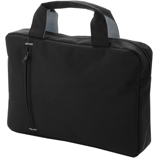 Detroit conference bag - Solid Black / Grey