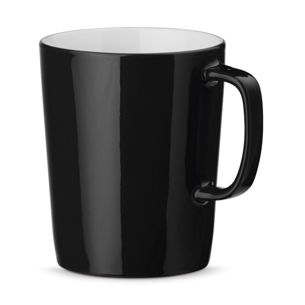 NELS. Ceramic mug 320 ml - Black