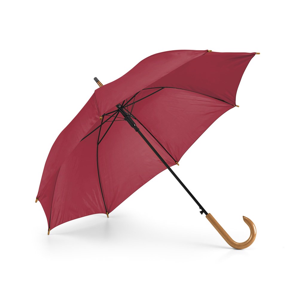 PATTI. Ομπρέλα με αυτόματο άνοιγμα - Βουργουνδί