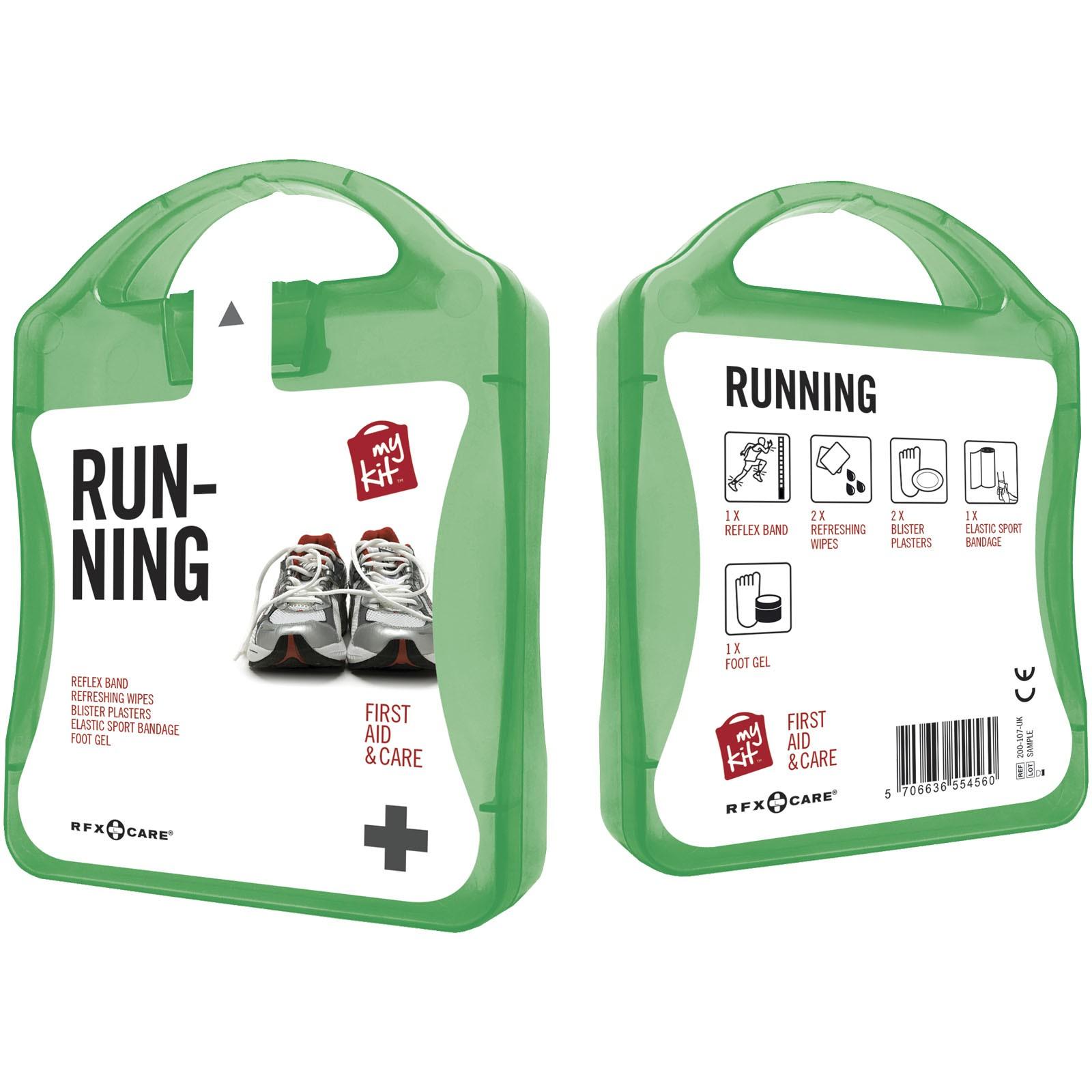 Lékarnička pro běžce - Zelená