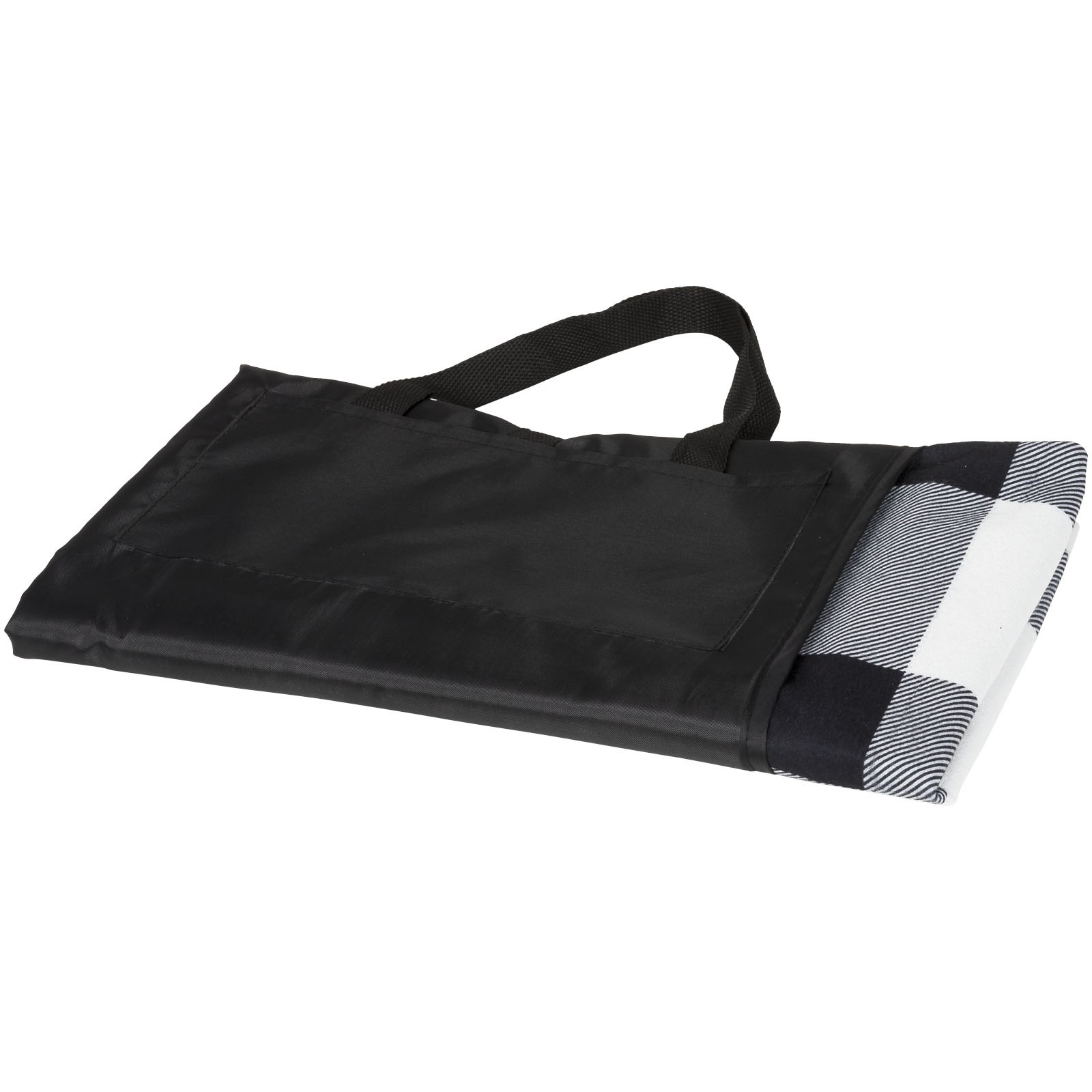 Buffalo picnic plaid - White / Solid black / Grey