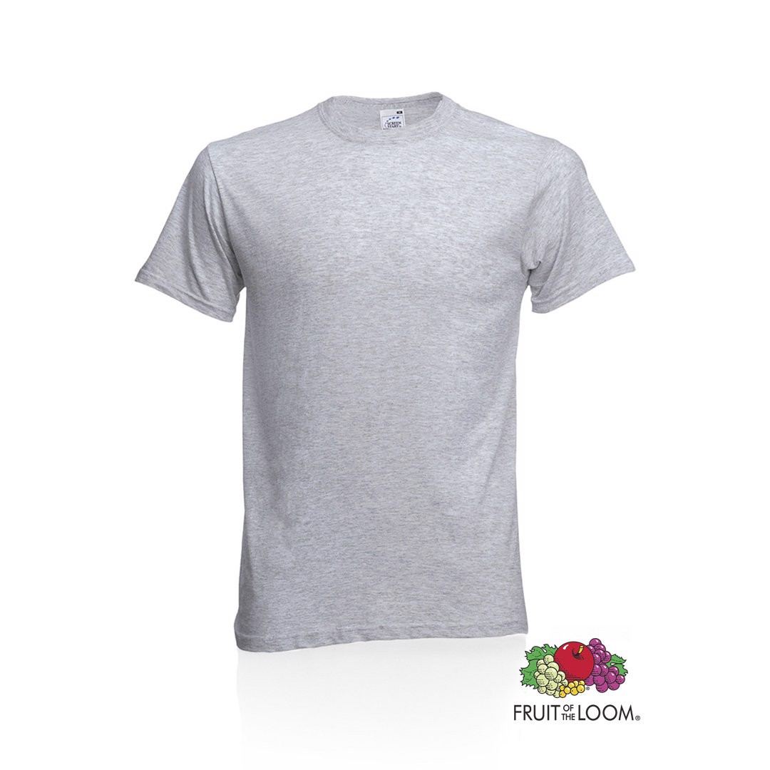 Camiseta Adulto Color Original - Gris / L