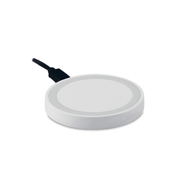 Small wireless charger Wireless Plato - White