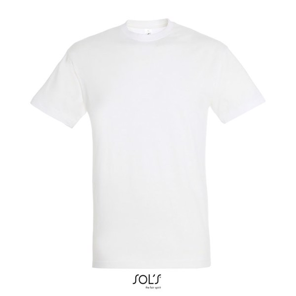 REGENT UNI T-Shirt 150g - White / S