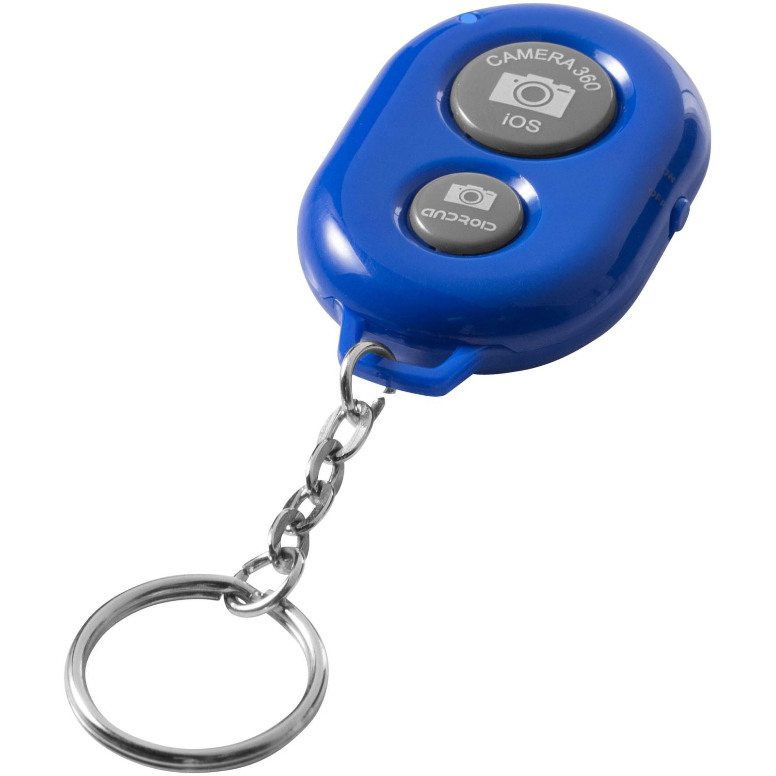 Dálková clona na klíče Selfie Bluetooth® - Světle modrá