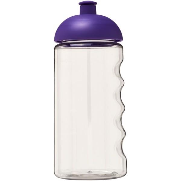 H2O Bop® 500 ml dome lid bottle - Transparent / Purple