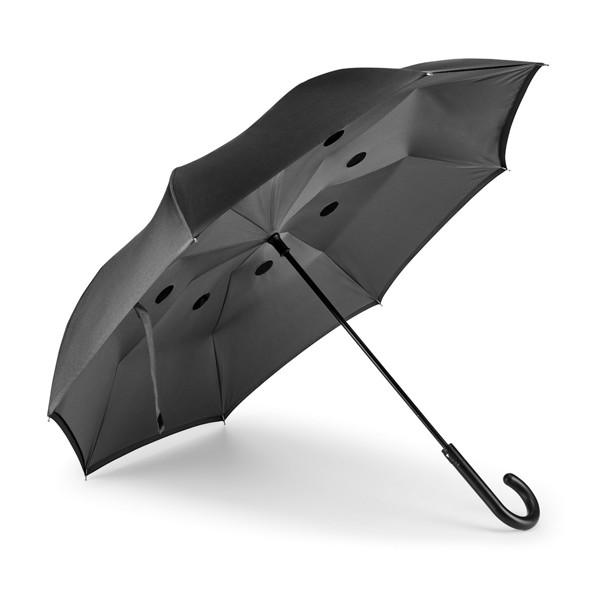 ANGELA. Αναστρέψιμη ομπρέλα - Γκρί