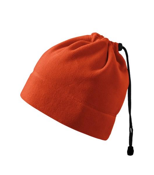 Fleece čepice unisex Malfini Practic - Oranžová / uni