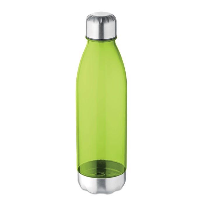 Milk shape 600 ml bottle Aspen - Transparent Lime