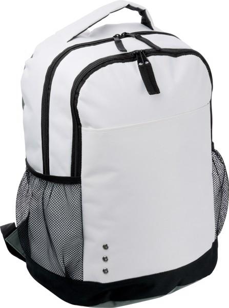 Rucksack 'London' aus Polyester - White