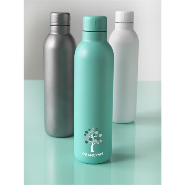 Thor 510 ml copper vacuum insulated sport bottle - Blue