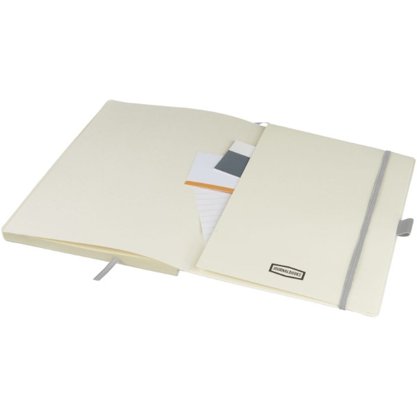 Zápisník tabletové velikosti Pad - Stříbrný