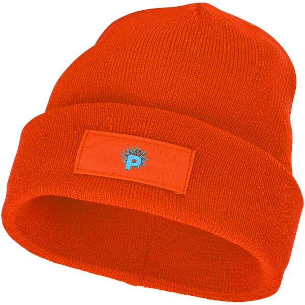 Boreas beanie with patch - Orange