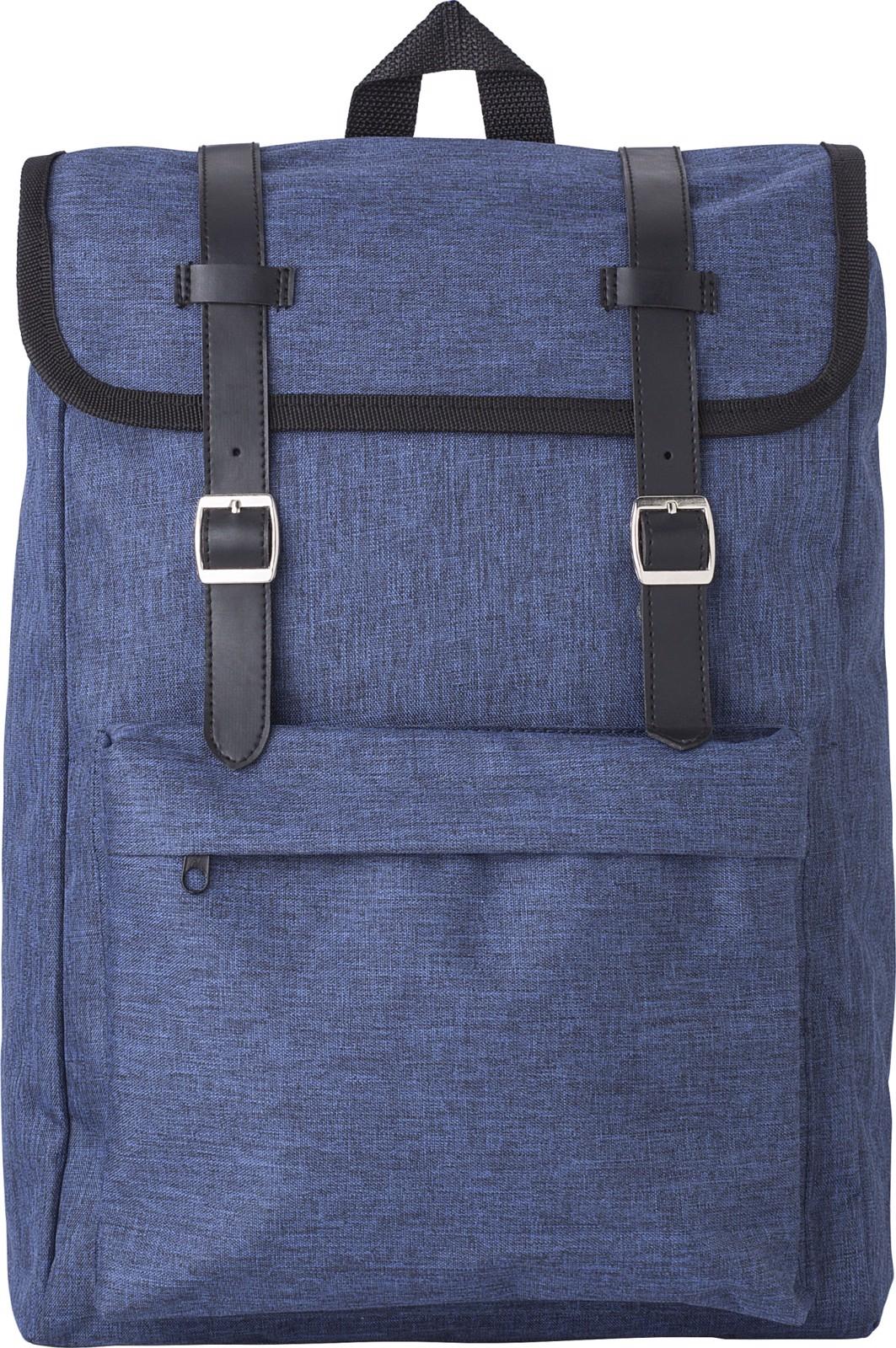 Polyester (210D) backpack - Blue