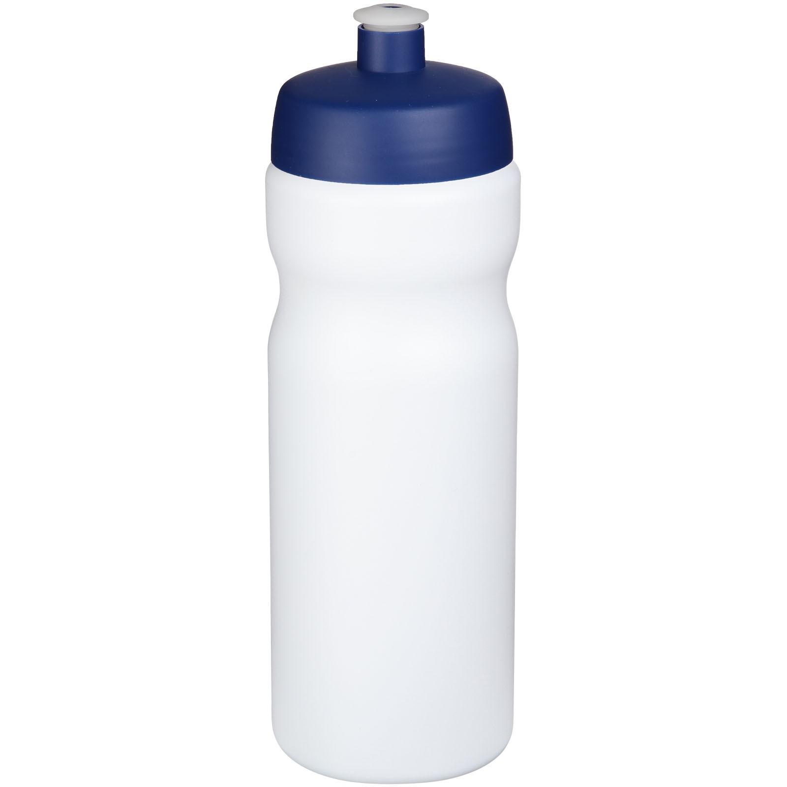 Baseline® Plus 650 ml sportovní lahev - Bílá / Modrá