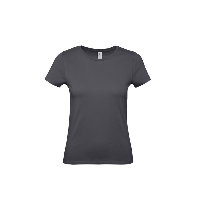 T-shirt female 185 g/m² #E190 /Women T-Shirt - Dark Grey / L