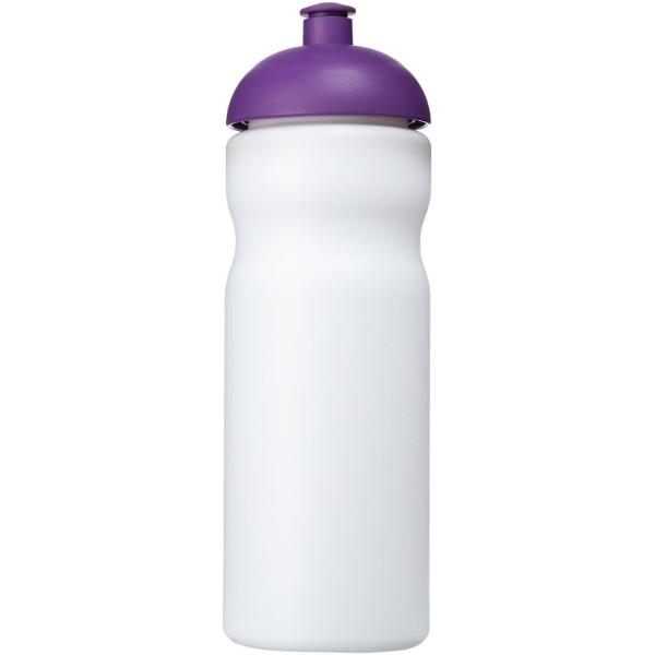 Baseline® Plus 650 ml dome lid sport bottle - White / Purple
