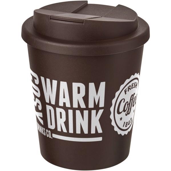 Americano Espresso® vaso 250 ml con tapa antigoteo - Marrón