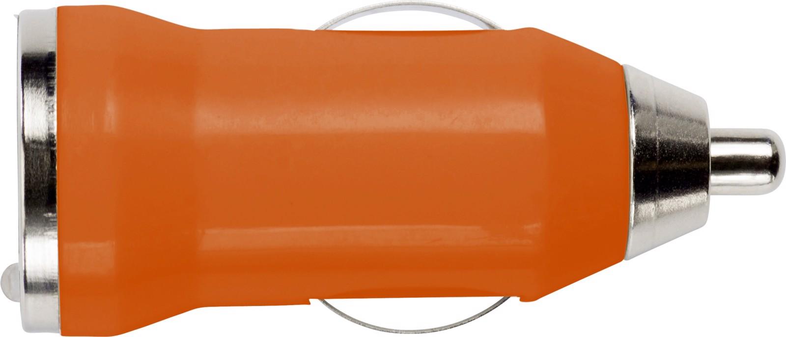 ABS car power adapter - Orange