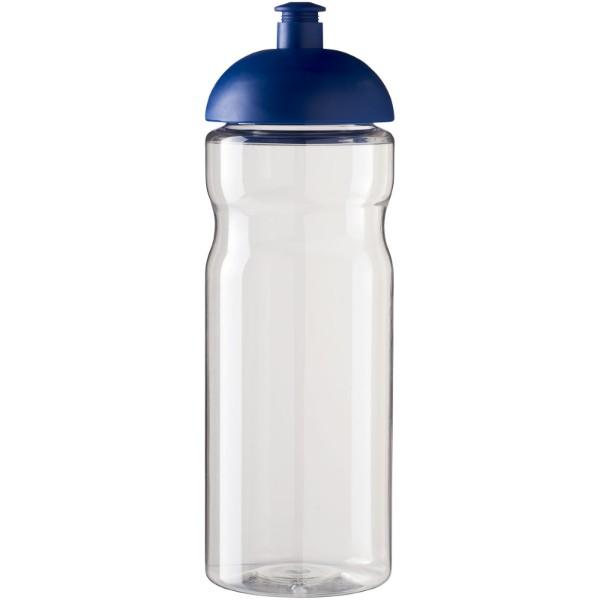 Sportovní láhev s kupolovitým víčkem H2O Base® 650 ml - Průhledná / Modrá