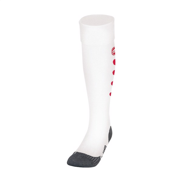 Jako® Roma Sport Socks - White / Red / XS