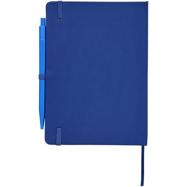 Zápisník Prime střední velikosti s perem - Světle modrá