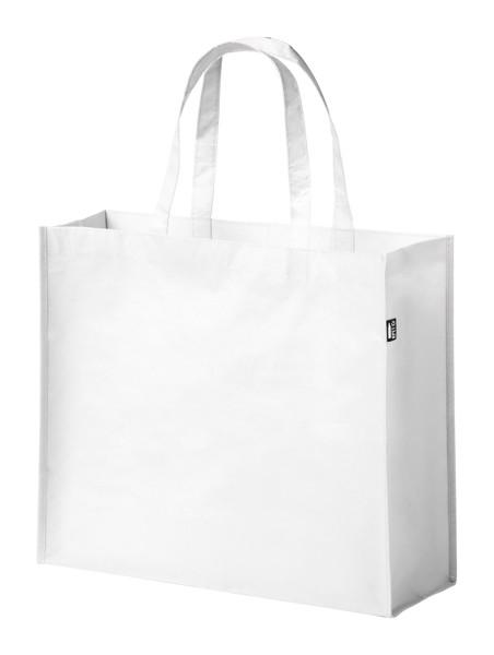 Sacoșă Cumpărături Kaiso, Material Reciclat Rpet - Alb