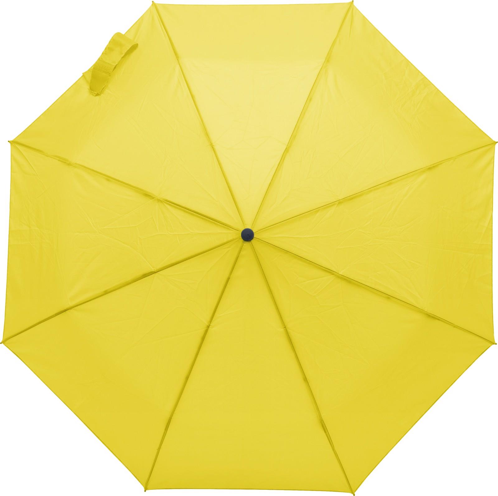 Polyester (170T) umbrella - Yellow