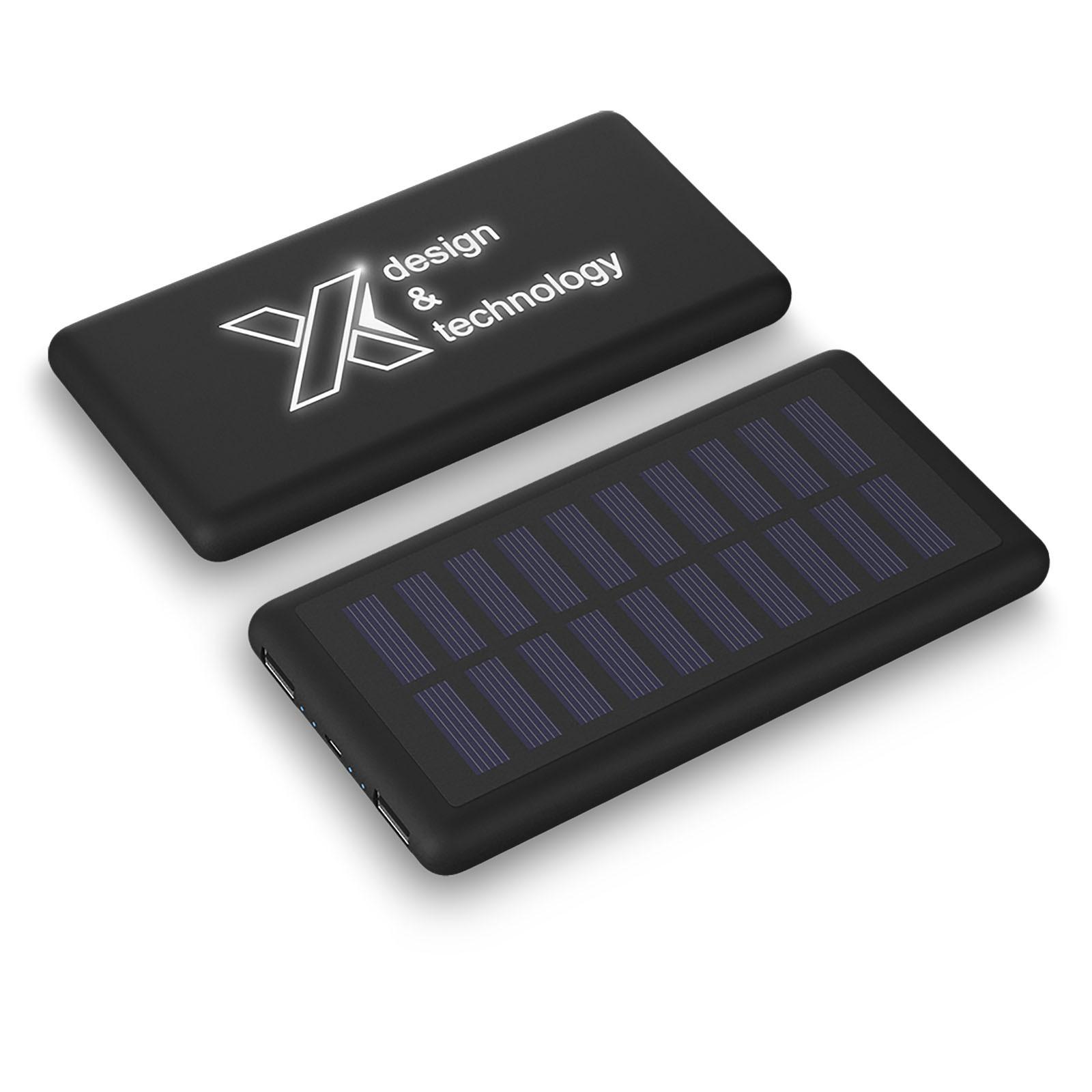Svítící solární powerbanka SCX.design P30  8000 mAh