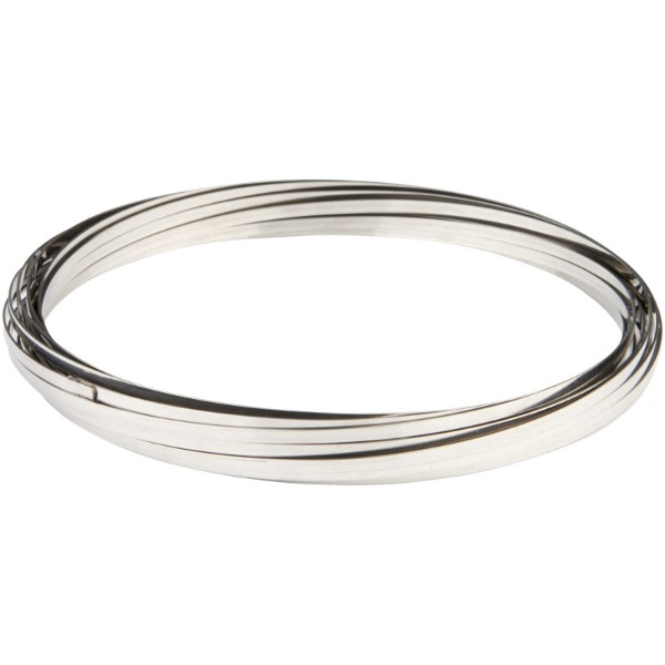 Agata Antistress Flow Ring - Silber