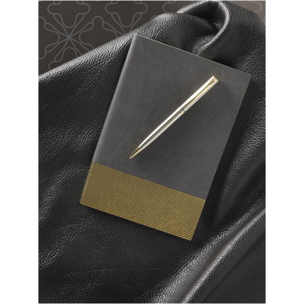 Midas gift set with notebook and pen - Grey
