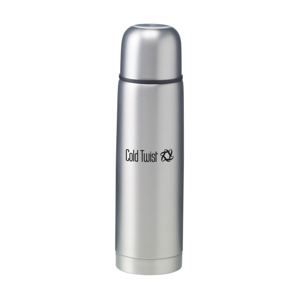 FrostedBottle thermo bottle - Silver