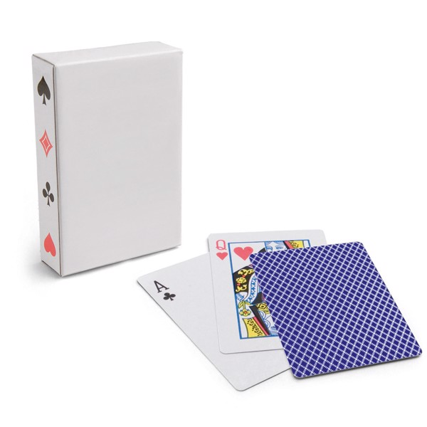 CARTES. Pack of 54 cards - Blue
