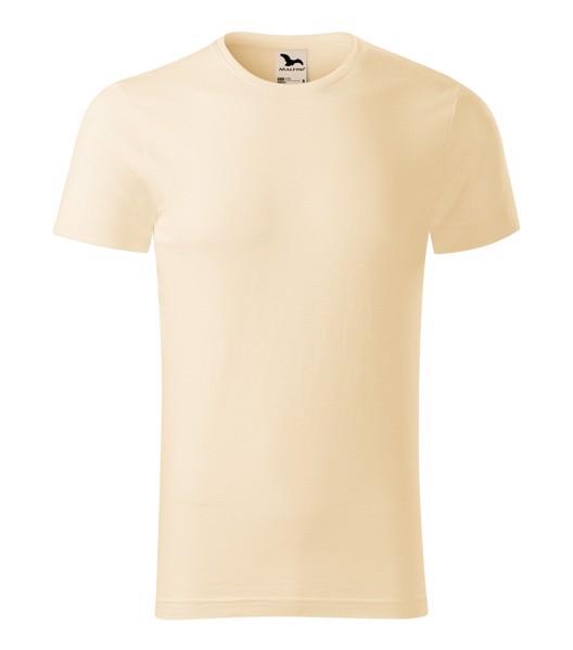 Tričko pánské Malfini Native - Mandlová / 2XL