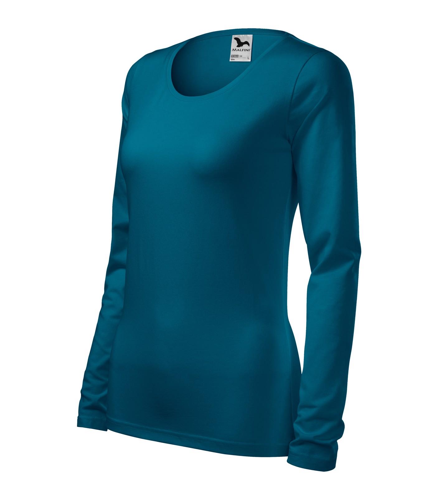 T-shirt women's Malfini Slim - Petrol Blue / 2XL