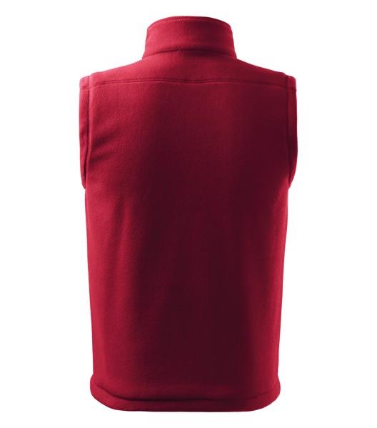 Fleece vesta unisex Malfini Next - Marlboro Červená / XS