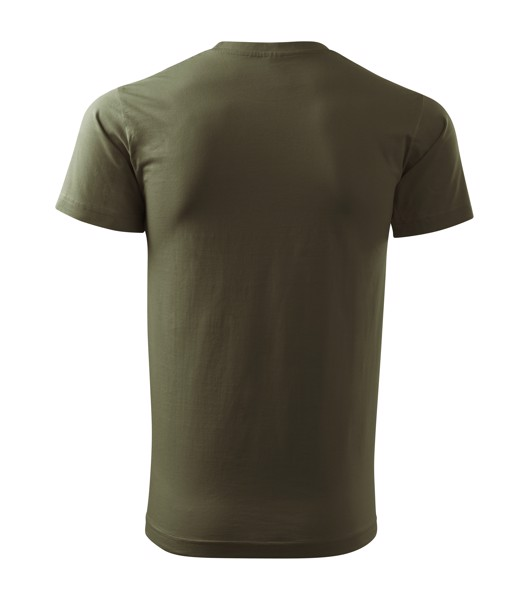 Tričko pánské Malfini Basic - Military / XS