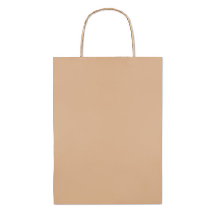 Gift paper bag medium size Paper Medium - Beige