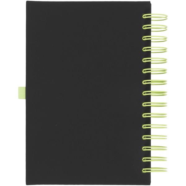 Deník Wiro - Černá / Limetka
