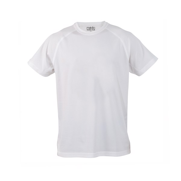 Camiseta Adulto Tecnic Plus - Blanco / XXL