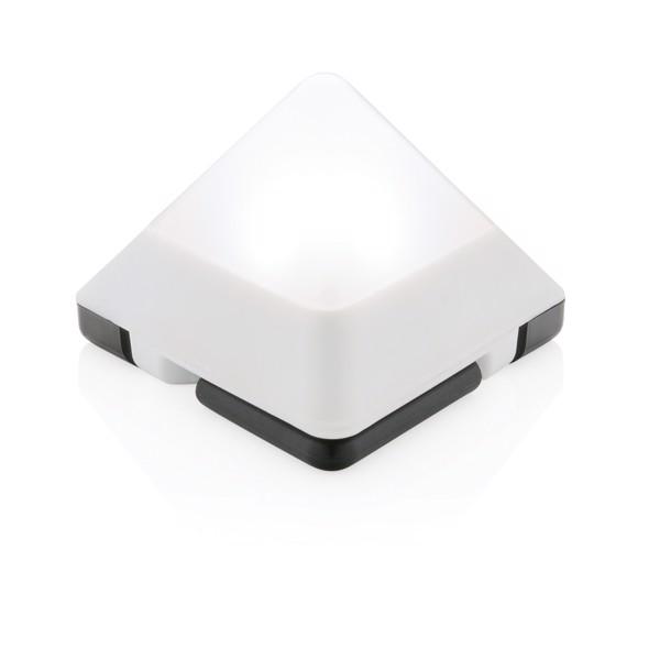 Triangle mini lantern - White