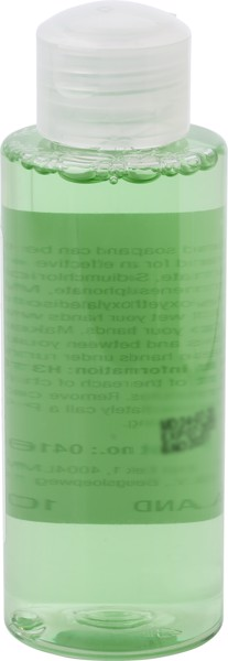 Plastic bottle with hand soap (100 ml)