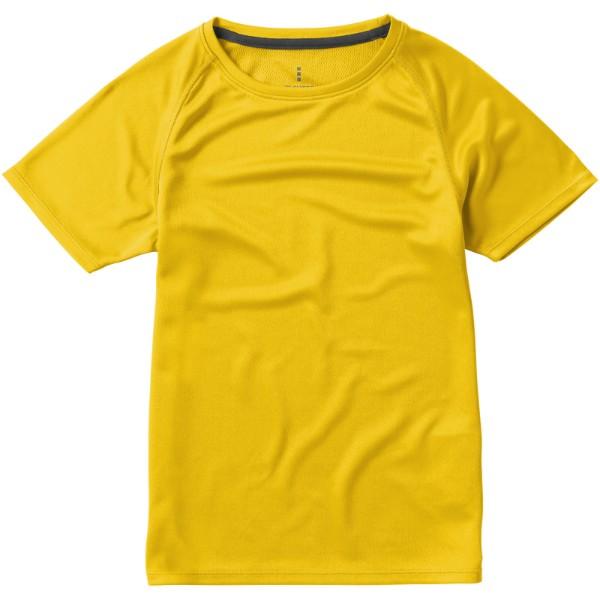 Dětské triko Niagara s krátkým rukávem, s povrchovou úpravou - Yellow / 116