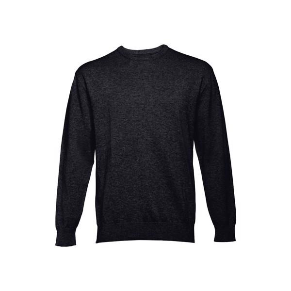THC MILAN RN. Men's crew neck jumper - Black / XXL