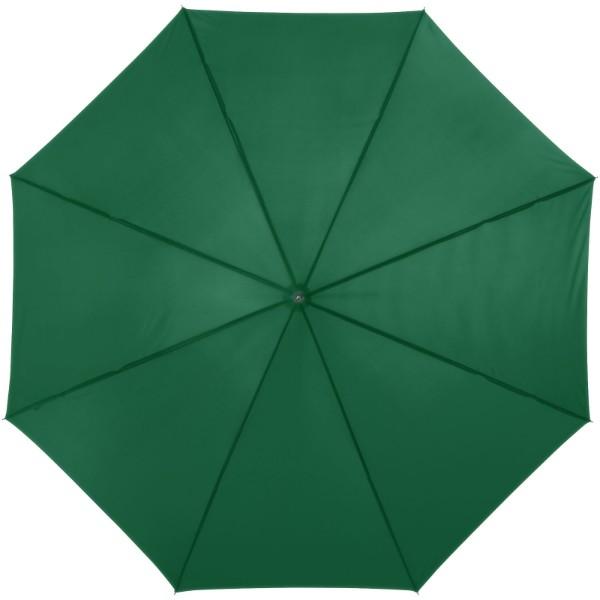 """23"""" deštník Lisa s automatickým otvíráním a dřevěnou rukojetí - Zelená"""