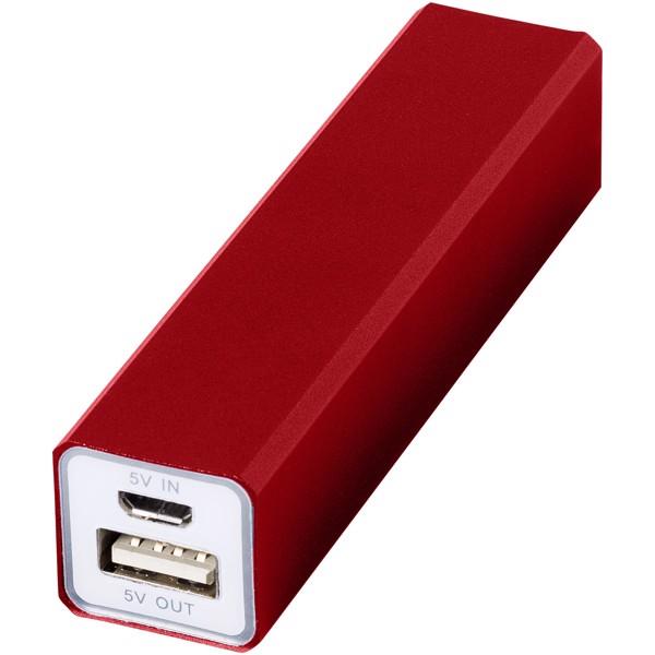 Powerbanka Volt 2200 mAh - Červená s efektem námrazy