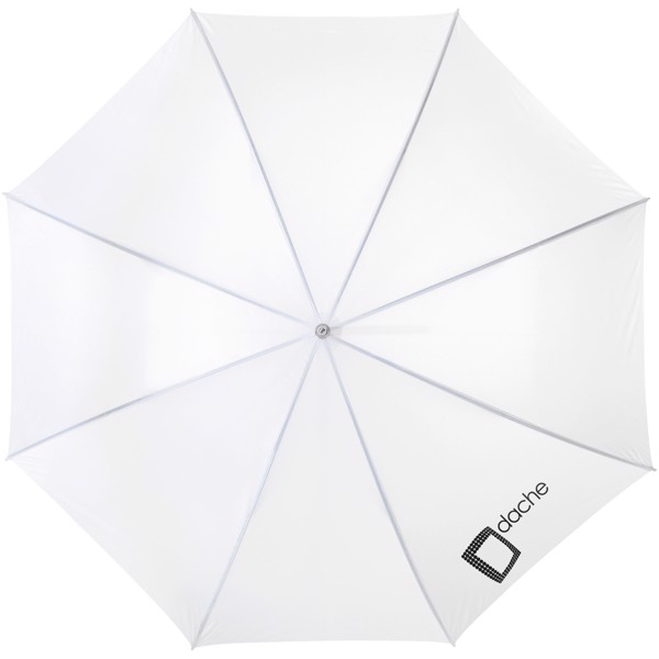 "Karl 30"" golf umbrella with wooden handle - White"