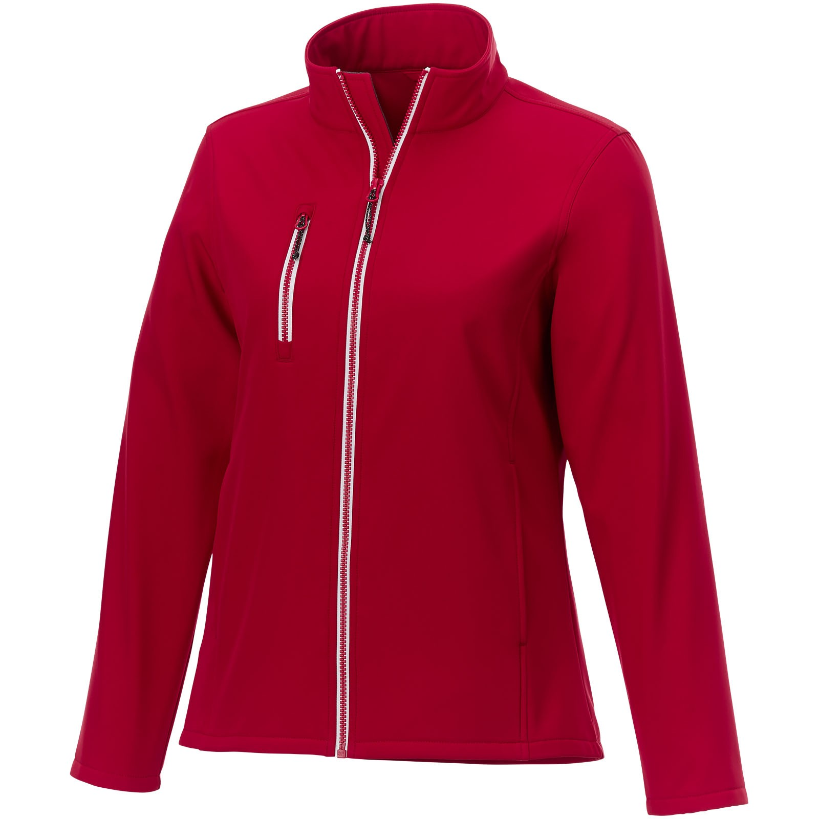 Orion women's softshell jacket - Red / XS